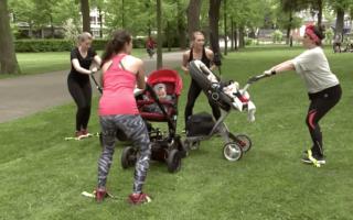 gym poussette gym avec bebe avec un coach sportif personnel a colmar alsace haut rhin 68